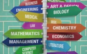 list of different college classes
