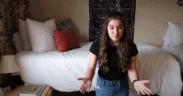 Riley In Dorm Room