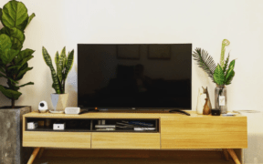 dorm tv on a stand